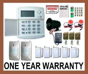 Wireless Home Security System House Alarm Auto Dialer A