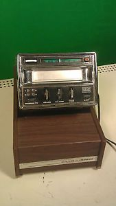 Craig Pioneer 3124 8 Track Player FM Car Console w Home Base Station