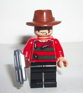 Lego Custom Horror Movie Nightmare on Elm St Freddy Krueger Minifig
