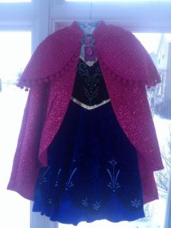 Disney Store Frozen Anna Limited Edition Le Costume Dress Sold Out Size 5 1 1500