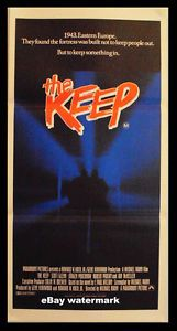The Keep Mann Nazi Horror Fortress RARE Original 1983 Daybill Movie Poster