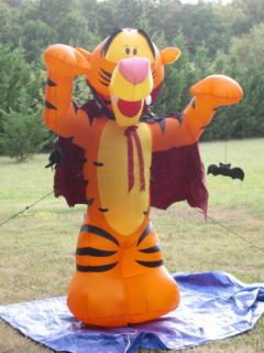 gemmy over 7 tall lighted disney tigger halloween airblown inflatable blow