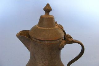 Antique Persia Persian Iranian Bronze Coffee Tea Pot Kettle Pitcher Jug 1900