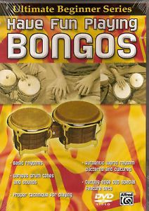 UBS Have Fun Playing Bongos Beginning Instructional DVD 654979058540