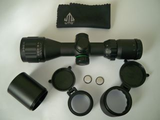 Bushnell 4x32 Rifle Scope with Free Mounts Flip Lens Covers
