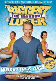 Biggest Loser Workout Weight Loss Yoga Fat Burning DVD 031398103073