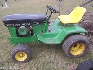 John Deere 140 H3 Lawn Garden Tractor Great Restoration Piece