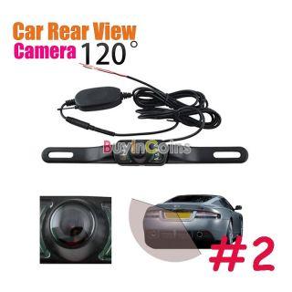 Car Rear View Reverse Backup Camera Mirror Monitor Wireless IR LCD LED Night Vis