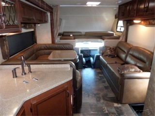 2014 Thor Motor Coach Four Winds Super C 33SW Class C Gas motorhome RV Rear King