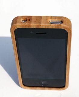 Holzcover FÜR iPhone 4 Holzcase Bambus Cover Case Aus Holz Holzhülle