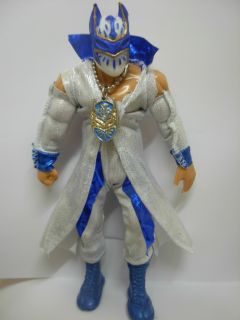 WWE White Sin Cara Toy Bad Sin Cara Hunico Action Figure Luchador