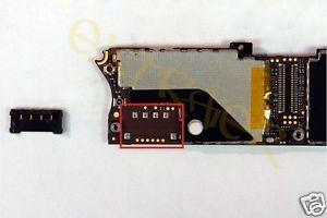 iPhone 4 Logic Board Battery Terminal Repair Service