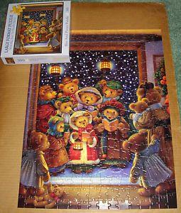 Bits Pieces Large Format Puzzle Christmas Carols 300pc Complete