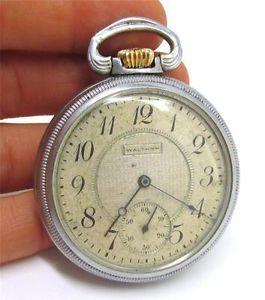 Waltham 7 Jewel Pocket Watch