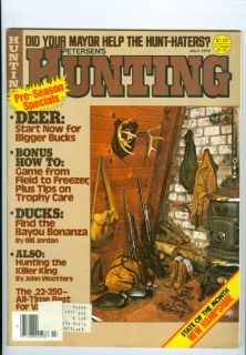 1979 Hunting Magazine Deer Bigger Bucks Ducks Find Bayou Killer King Hunting