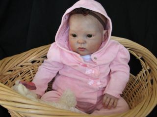 Cuddles Reborn Vinyl Kit by Donna RuBert 9 Month Old 26 inch Realistic Doll Kit
