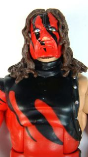 WWE Wrestling Big Red Machine Kane Mask Wrestler Elite Action Figure Kids Toy