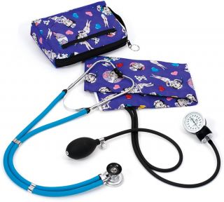 Aneroid Sphygmomanometer Sprague Rappaport Kit Betty Boop Colored Hearts A2