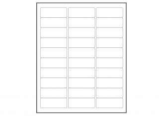 Return address labels x 60 labels per sheet for Avery label templates 5195
