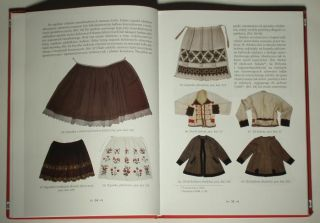 Book Polish Folk Costume Embroidery Patterns Hrubieszow Ukrainian Ethnic Dress