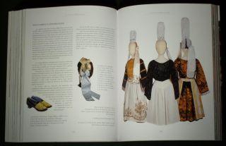 Book French Folk Costume Bretagne Regional Ethnic Fashion Embroidery France Old