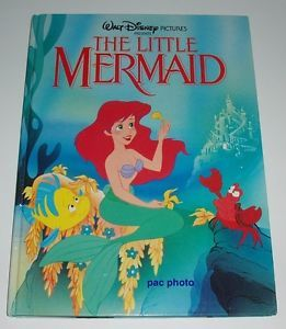 The Little Mermaid Disney Large Format Hardcover Book 96 Pages Printed in Spain