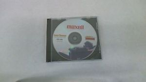 Maxell Laser Lens Cleaner CD Drive DVD Player Xbox 360 PS3 Car Stereo Boombox