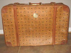 MCM Luggage Suitcase Vintage
