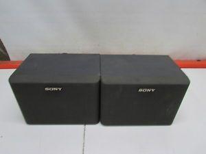Pair of Sony SS U31 Bookshelf Speakers 8 Ohm Tested