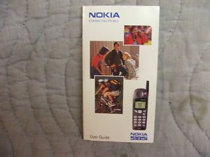 Owners Manual Nokia 5185i Cell Phone User Guide