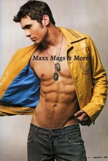 Instinct Magazine 5 06 Gay Young Model Kaden Ellingsen