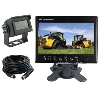 "7"" Rear View Backup Camera Cab Observation System for Truck Tractor Forklift RV"