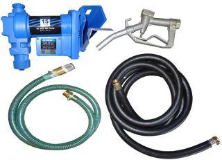 New 12 Volt Electric Petrol Diesel Bio Fuel Kerosene Fuel Transfer Pump