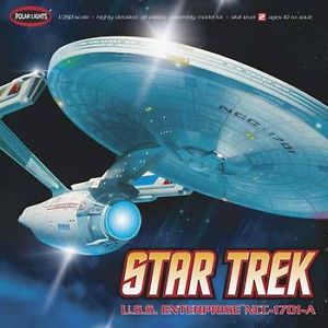 Polar Lights Star Trek USS Enterprise NCC1701A 1 350 Scale Giant Model Kit 0808