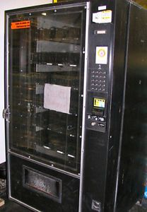 AMS 39 640 Snack Vending Machine 40 Helix Candy Bar Crackers Gum Food Chips