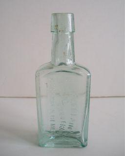 Chamberlain's Medicine Bottle Colic Cholera Diarrhoea Remedy Great Condition