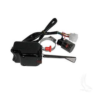 Plug Play Turn Signal Switch w Flasher Relay for Most Golf Carts R