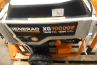 Generac 5802 XG10000E 10 000 Watt 530cc OHV Gas Powered Portable Generator