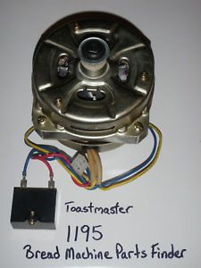 Toastmaster Bread Machine Parts Electric Motor 1195