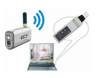CCTV Digital Wireless Security Camera System USB Receiver Li Battery Camera
