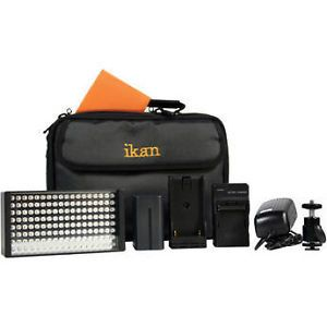 Ikan Iled 155 on Camera LED Light Kit with Canon Battery Plate