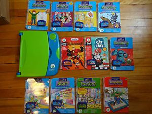 Big Lot LeapFrog LeapPad Leap Pad 10 Books Carts Most Grades 1 3 Reading Math