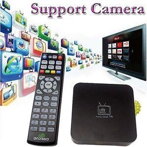 Android 4 0 TV Box Media Player Google Smart TV 1080p HDMI WiFi Support Camera