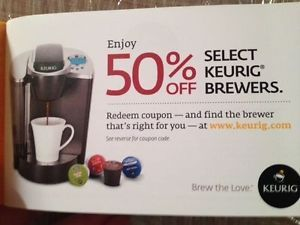 Keurig Coffee Maker K Cup Vue Brewers 50 Percent Off