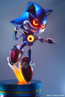 Metal Sonic Exclusive Statue FIRST4FIGURES First 4 Figures New in Box