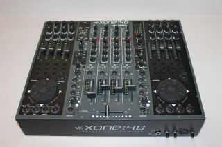 Allen Heath Xone 4D Professional DJ Mixer USB Audio Interface Xone 4D