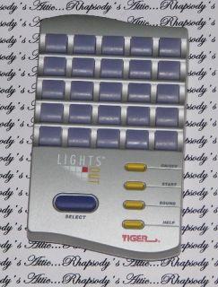 1995 Lights Out Tiger Electronics Handheld Travel Game