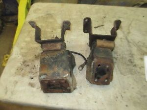 Jeep CJ AMC V 8 Motor Mounts Block and Frame