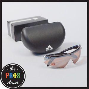 New Adidas Supernova Pro s Sunglasses A177 Black Brown Lens Optics