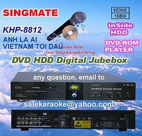 Vietnamese English HDD Karaoke System 8812 10K Song ANH La AI Vietnam Toi Dau
